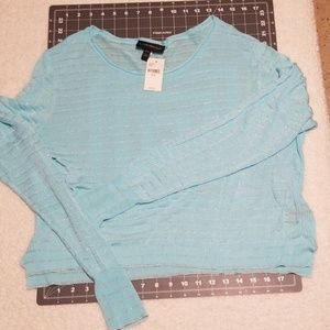Lane Bryant Sweaters - Lane Bryant sheer crop sweater